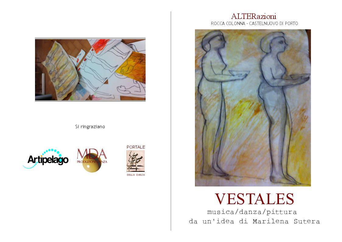 VESTALES ad Alterazioni _ Rocca Colonna (Eventi)