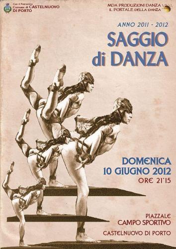 portaledanza saggio locandina2012